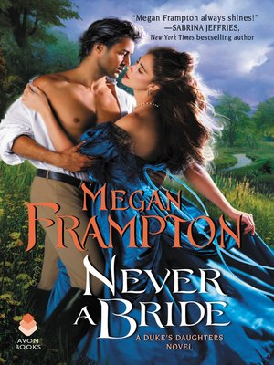 cover image of Never a Bride